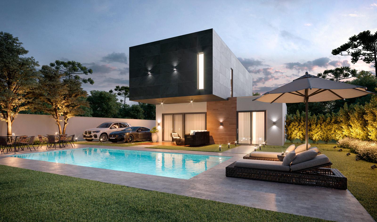 comprar un terreno para construir una casa modular de hormigón