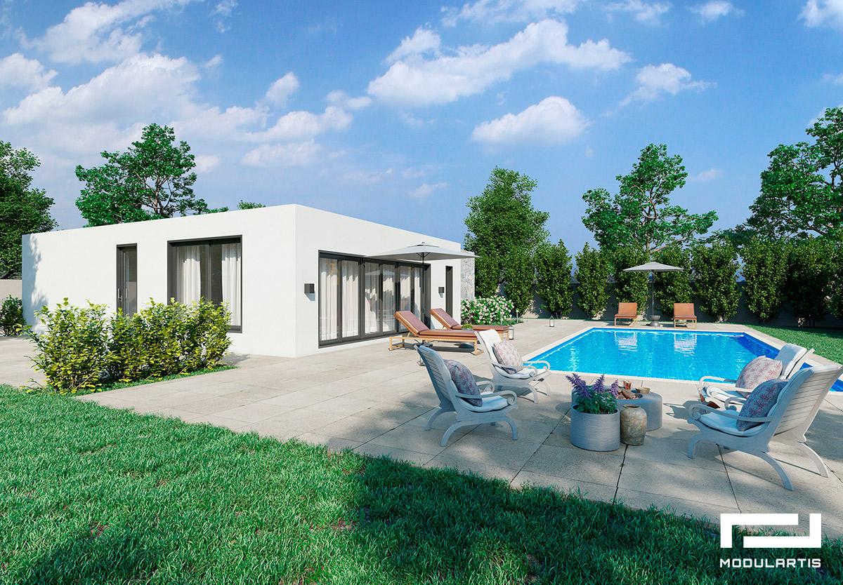 Comprar parcela: diseños de casas modulares de Modulartis