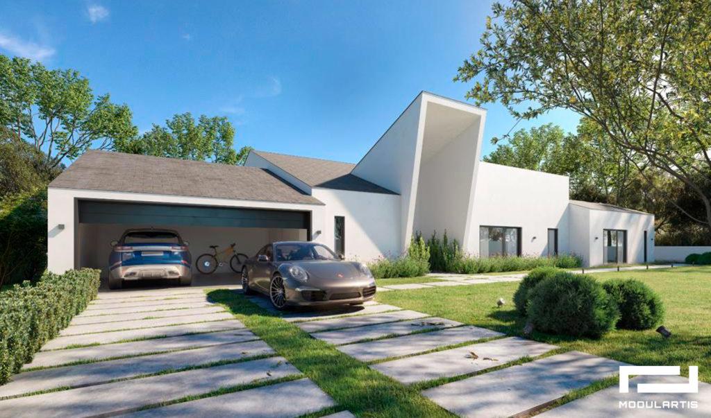 Viviendas ecológicas: diseños de casas modulares de Modulartis